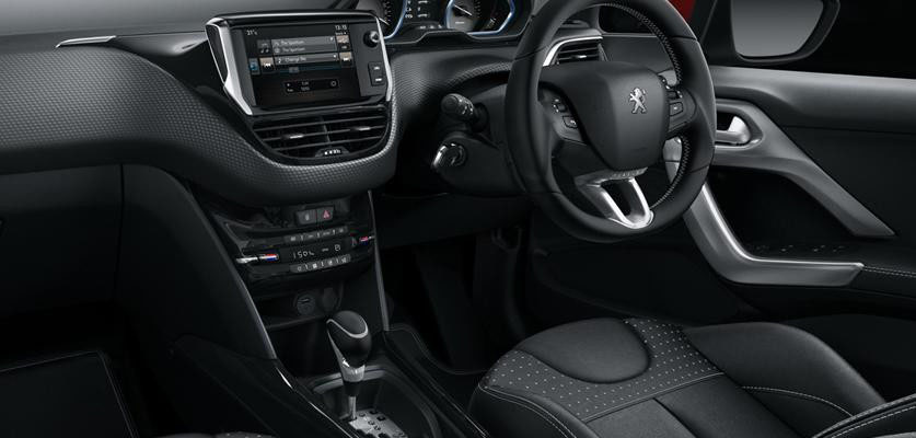 Peugeot New 2008 SUV PureTech interior and driving modes dial