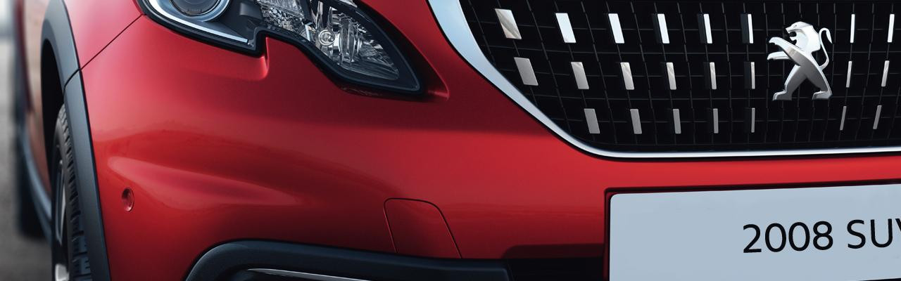 Peugeot New 2008 SUV PureTech front grille