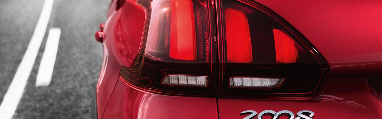 Peugeot New 2008 SUV PureTech rear light