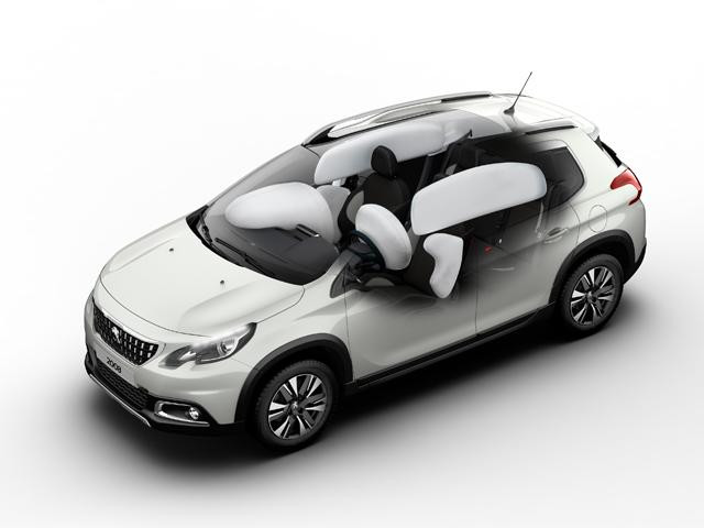 Peugeot New 2008 SUV PureTech airbags