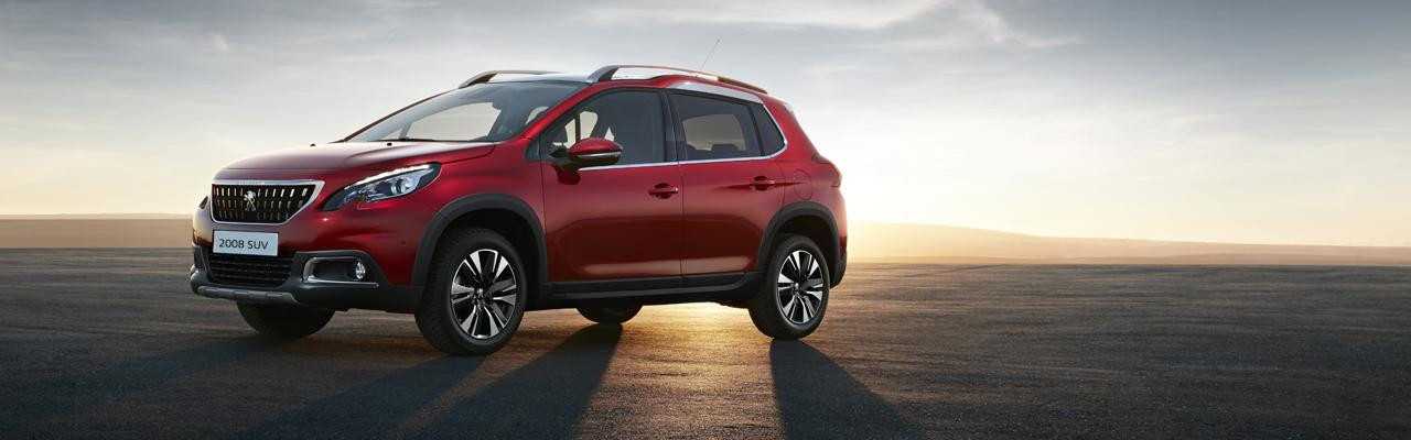 Peugeot New 2008 SUV PureTech side view