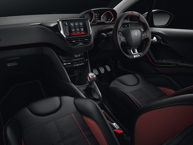 208 gti interior connected technology