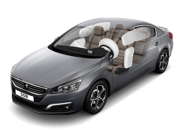 Peugeot 508 Saloon airbags