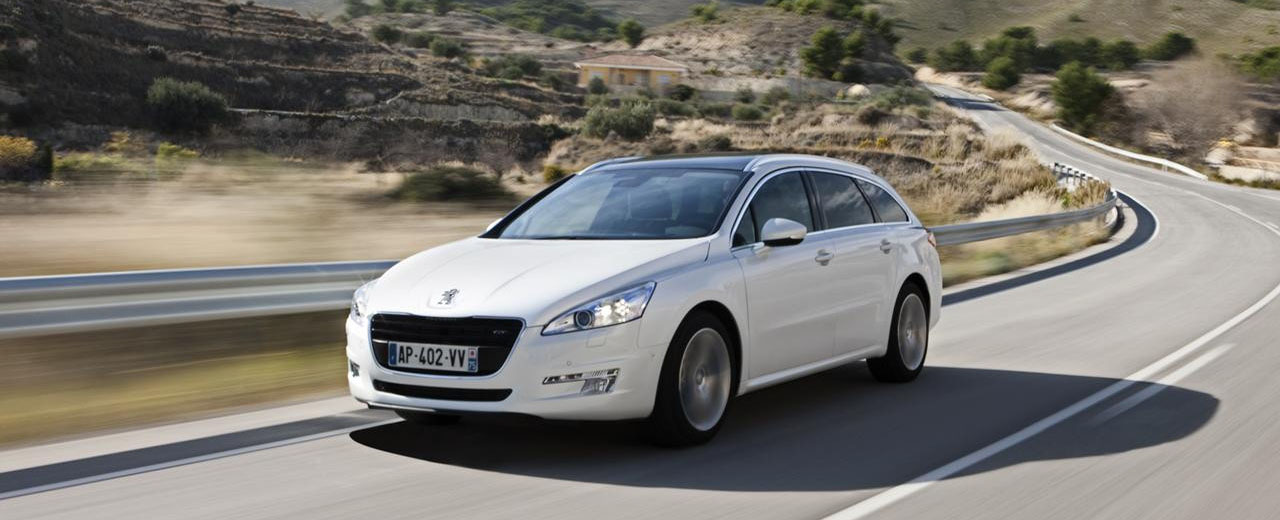Peugeot 508 SW front view