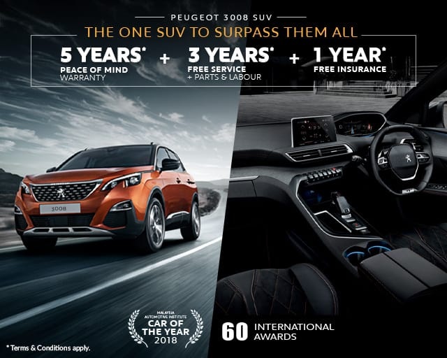 SUV that surpass all PEUGEOT 3008 SUV