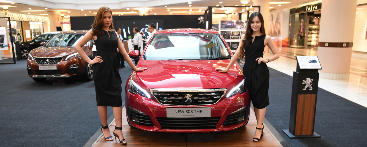 New Peugeot 308 Thp Designed For Pure Driving Pleasure Arrives At 1 Utama Shopping Mall