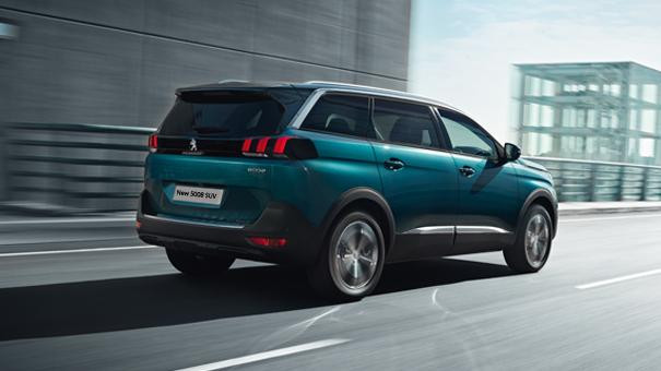 Peugeot 5008 SUV side view
