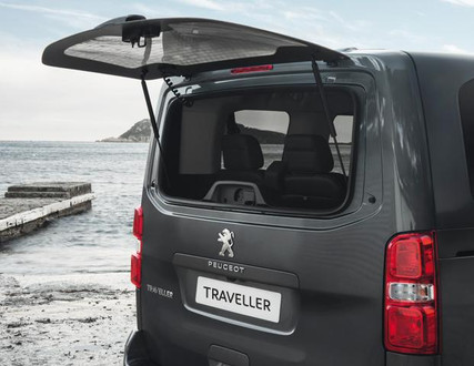 Peugeot Traveller back window