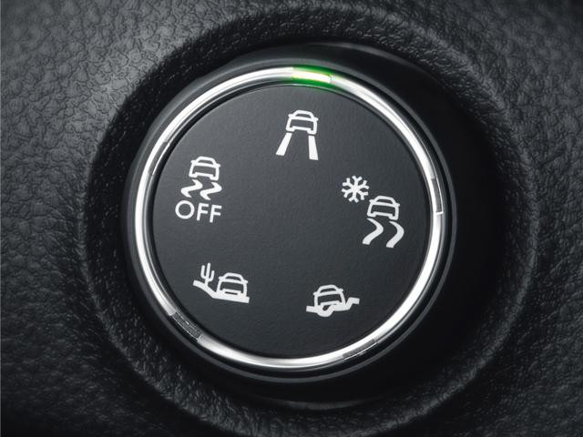 Peugeot Traveller driving modes dial