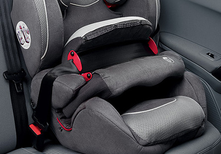 ISOFIX CHILD SEAT ANCHOR POINTS