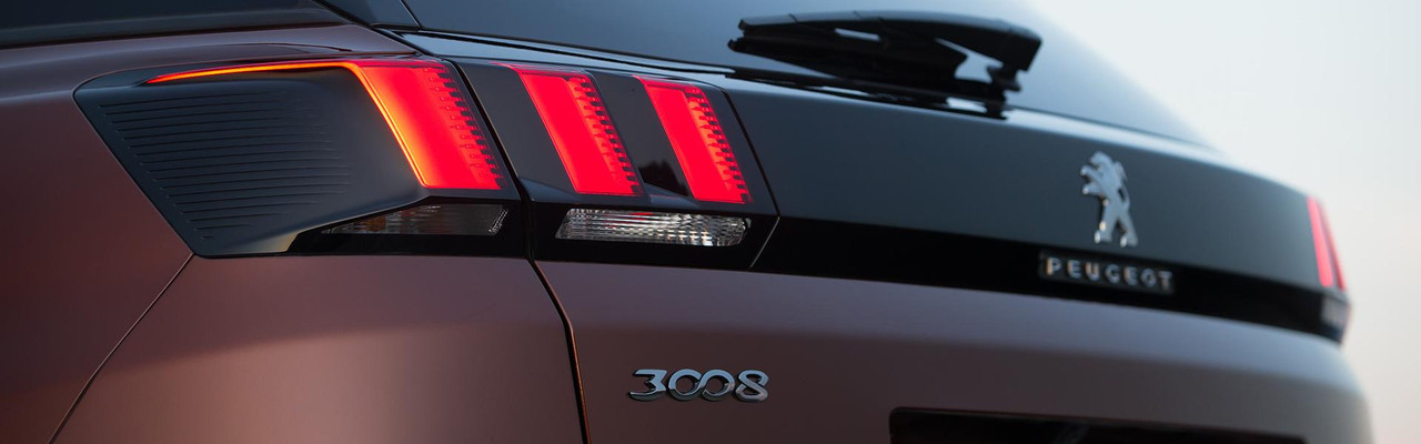 Peugeot 3008 SUV front grille